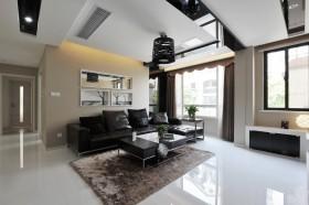 现代四居客厅装修效果图
