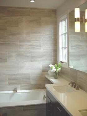 灰色简约小型卫生间装修效果图