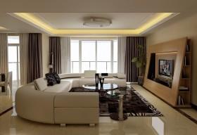 现代客厅电视柜设计