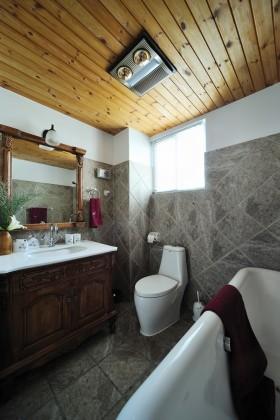 复式楼房卫生间装修图片