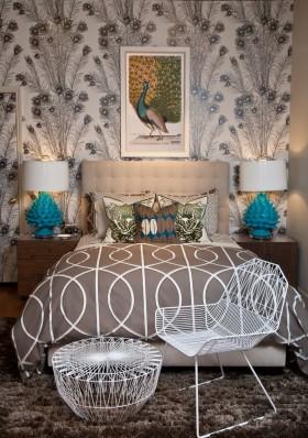 小卧室壁纸设计效果图