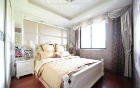 欧式小卧室窗帘装修效果图