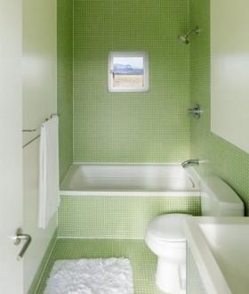 最新小卫生间瓷砖效果图片