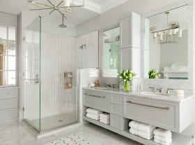 卫生间淋浴房柜子设计图