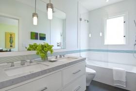 现代卫生间浴室效果图