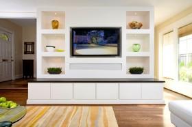 现代简约电视柜装修效果图