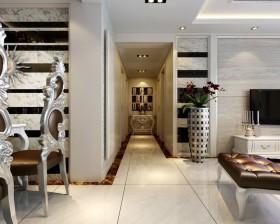 新古典风格客厅过道装修效果图