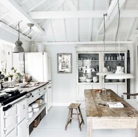 开放式厨房餐厅装修效果图大全2013图片