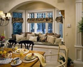 欧式风格餐厅飘窗设计效果图欣赏