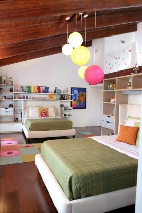双人儿童房卧室装修效果图
