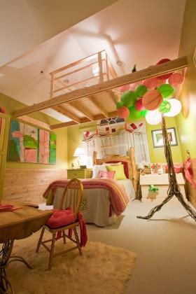 儿童房装修布置效果图