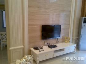 欧式电视背景墙装修效果图图片
