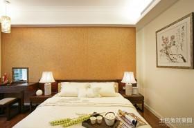 2013中式卧室装修效果图片