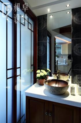 2013中式小洗手间装修效果图
