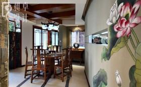 中式家装餐厅装修效果图