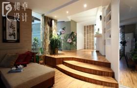 中式客厅过道装修效果图