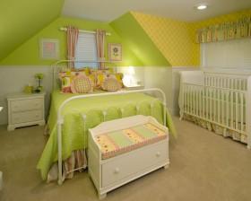 新家装修双儿童房设计图