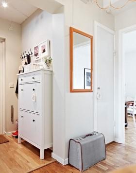 玄关白色柜子设计图