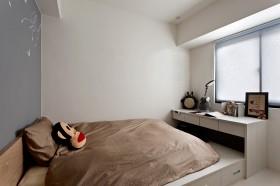 简约卧室榻榻米装修效果图欣赏