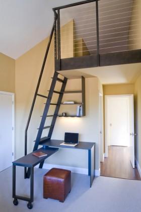 室内阁楼楼梯装修效果图大全