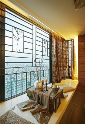 2013客厅飘窗装饰效果图