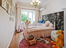 现代风格女生卧室设计效果图