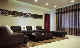 现代风格客厅装修设计图