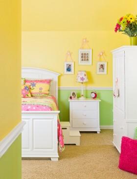 儿童房家具装修设计效果图