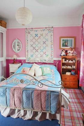 田园儿童卧室装修效果图欣赏