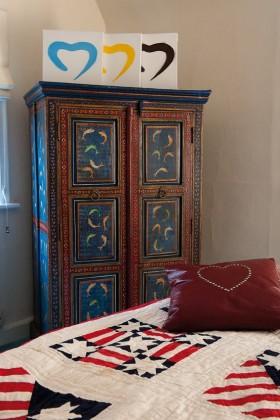 东南亚风格卧室储物柜图片