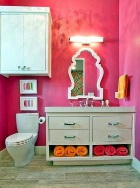 最新家庭小卫生间装修图