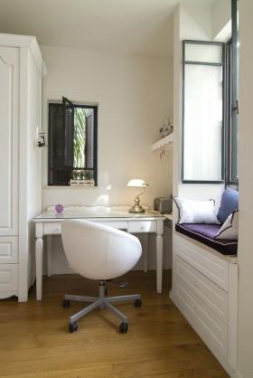 现代风格飘窗现代欧式书房飘窗设计效果图