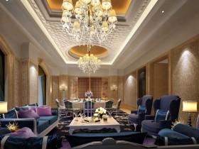 中国最豪华的别墅客厅装修效果图