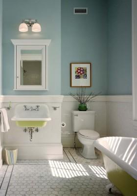 欧式风格小卫生间设计效果图