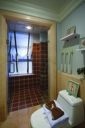 家装卫生间瓷砖装修图片