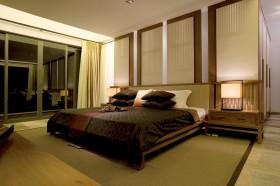 中式大户型主卧室装修效果图欣赏