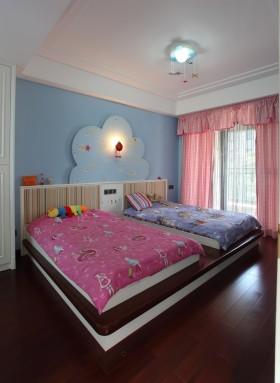 儿童房卧室窗帘图