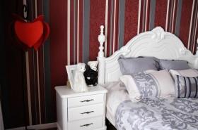 欧式卧室床头装修效果图