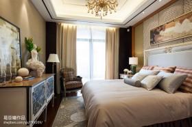 8平米卧室窗帘装修图片