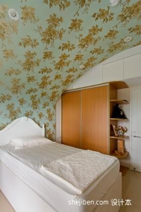三室一厅小卧室壁纸装修效果图