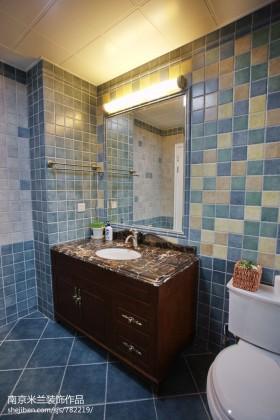 卫生间马赛克瓷砖效果图