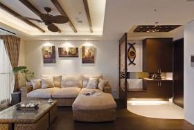 欧式简约客厅装修设计