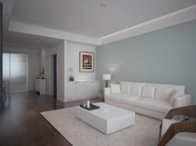现代简约客厅装潢效果图欣赏
