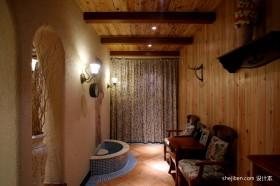 2013地中海风格四居室装修效果图片