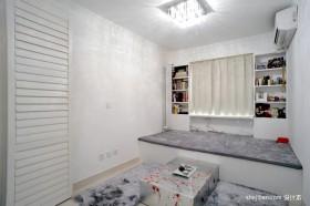 现代简约卧室榻榻米装修效果图