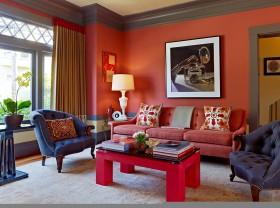 小客厅沙发背景墙装修效果图