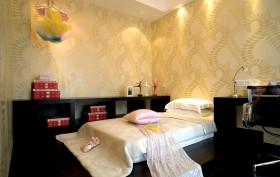 美式卧室墙纸效果图