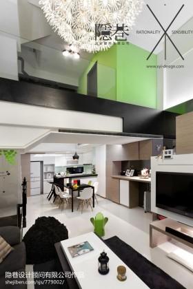 现代小别墅室内装修效果图