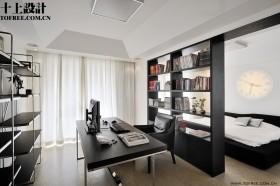 现代书房书架图片