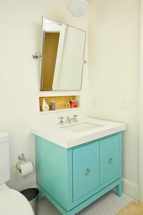 小卫生间浴室柜装修效果图